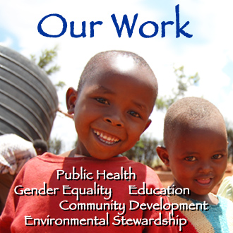 Our Work Clean Water Public Health Gender Equality Empowering Women Community Development Environmental Sustainability